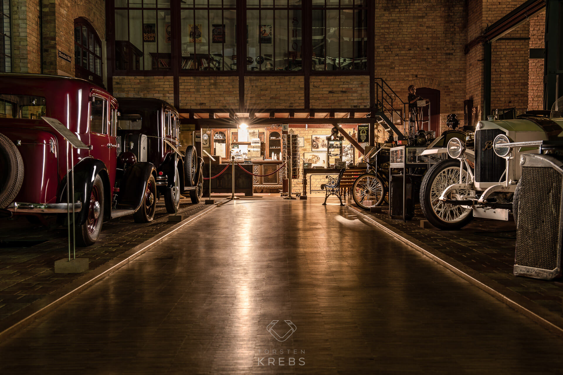 Dr Carl Benz Museum Ladenburg bei Nacht
